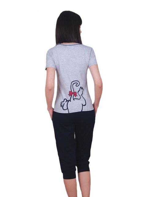 Пижама женская капри NICOLETTA 82374