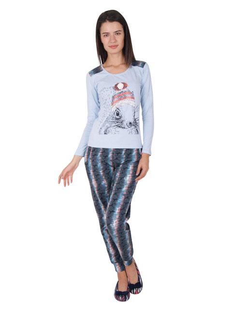 Пижама женская брюки NICOLETTA 86692