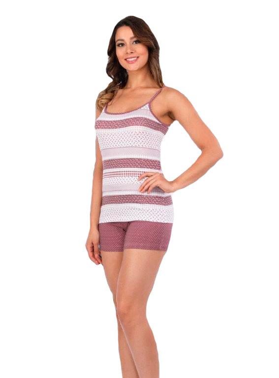 Пижама женская шорты Metin 8904