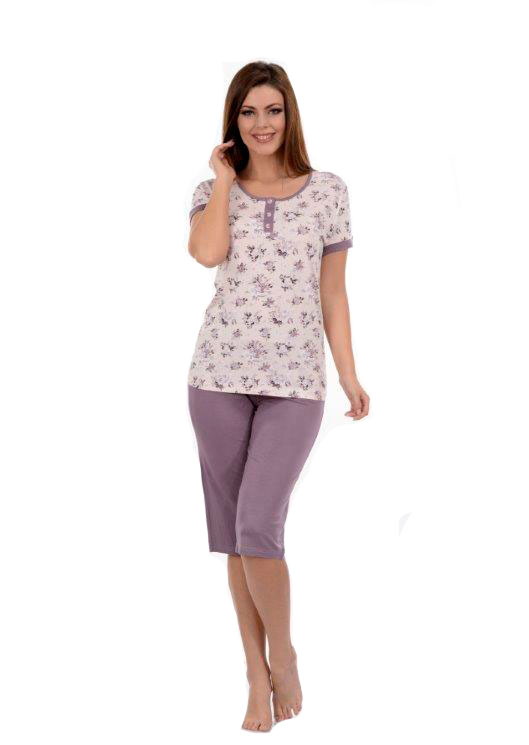 Пижама женская капри Metin 9054