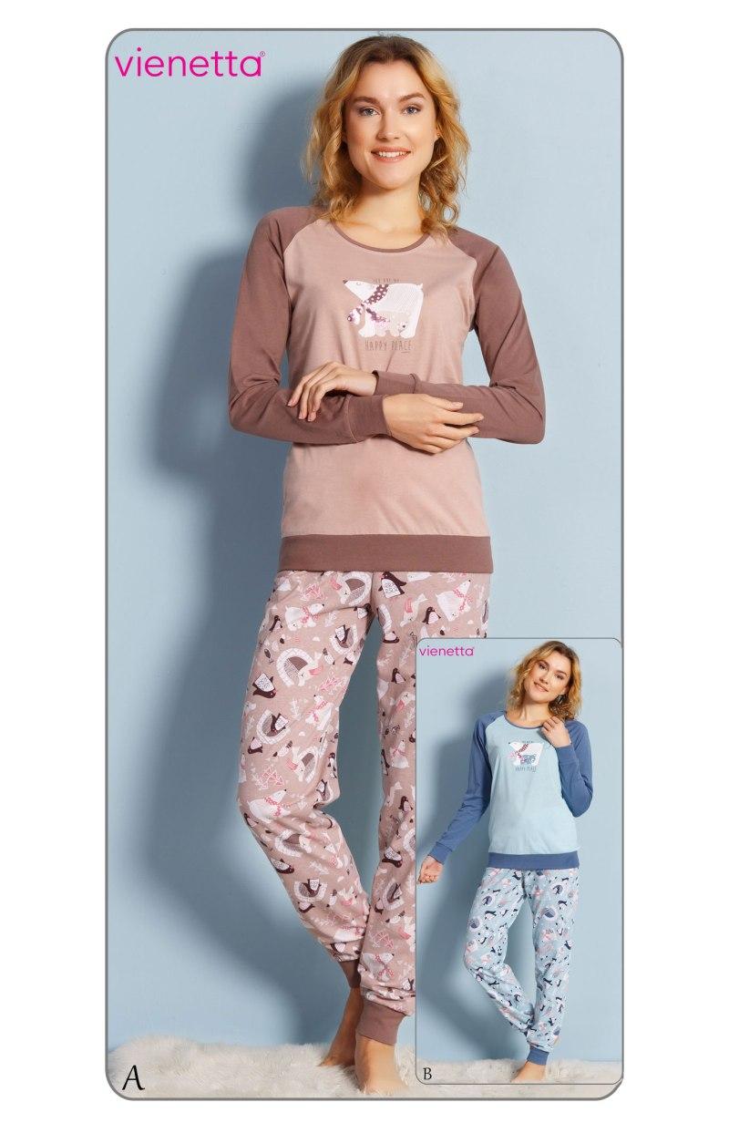 Пижама женская манжет 7030390391