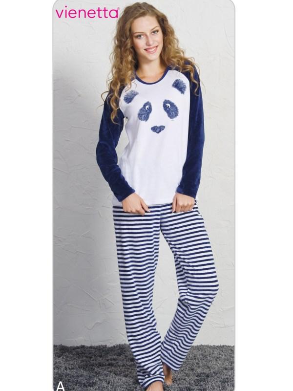 Пижама женская Велюр 7040211955