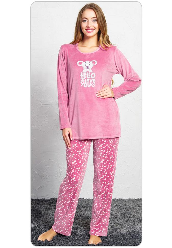 Пижама женская брюки SNK-724 3470