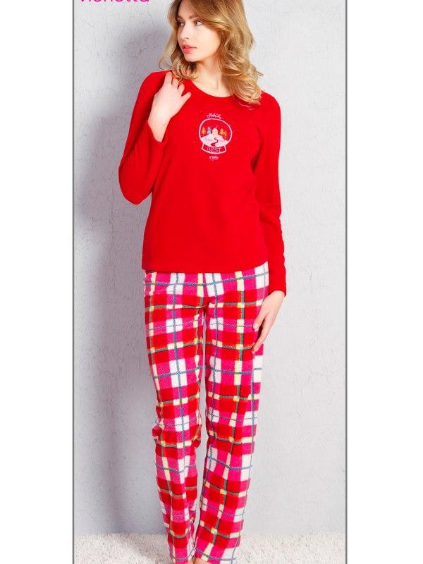 Пижама женская Флис 7042477984