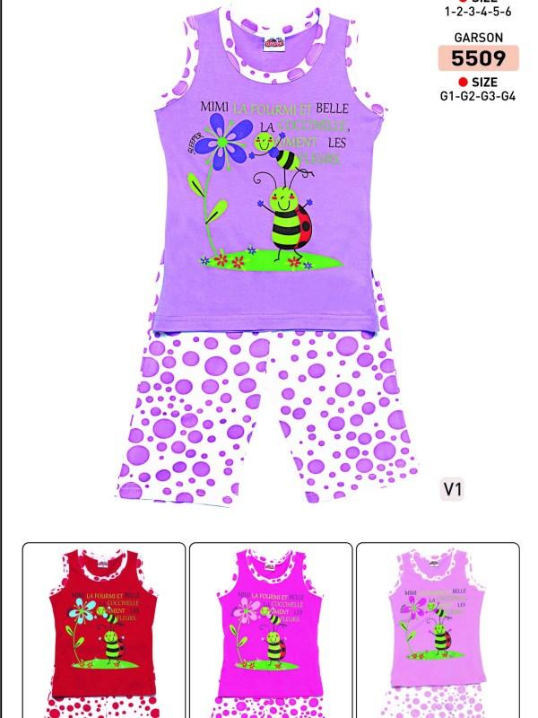 Пижама детская Капри Roly Poly 5504