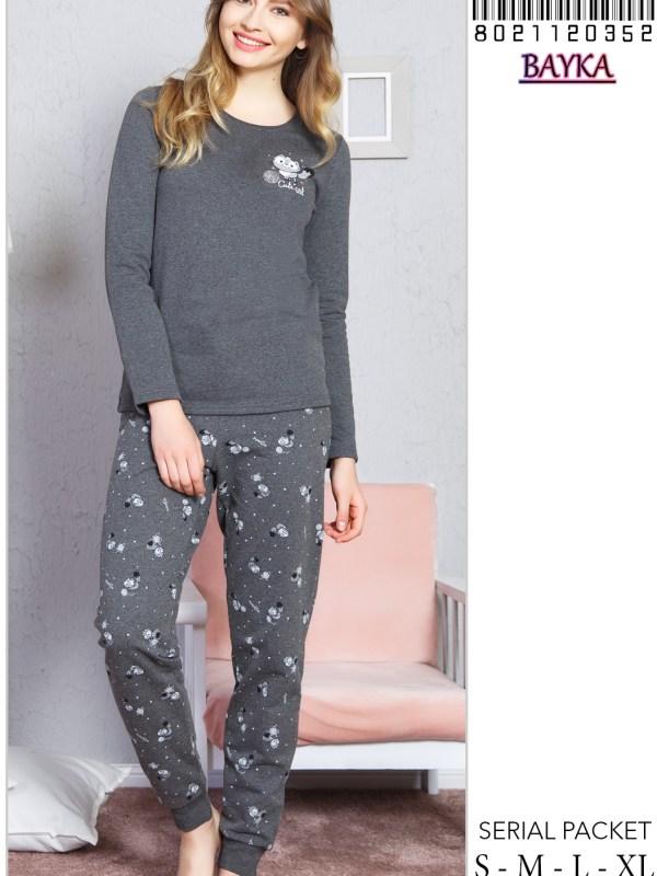 Пижама женская Брюки 8021120352
