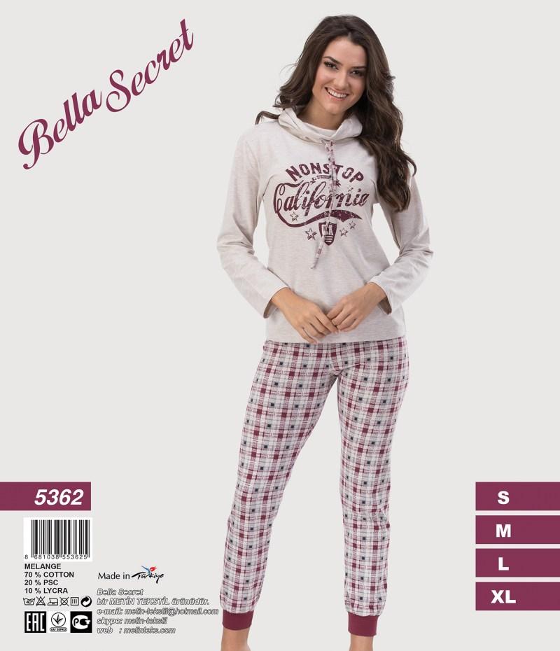 Пижама женская Брюки Metin 5362