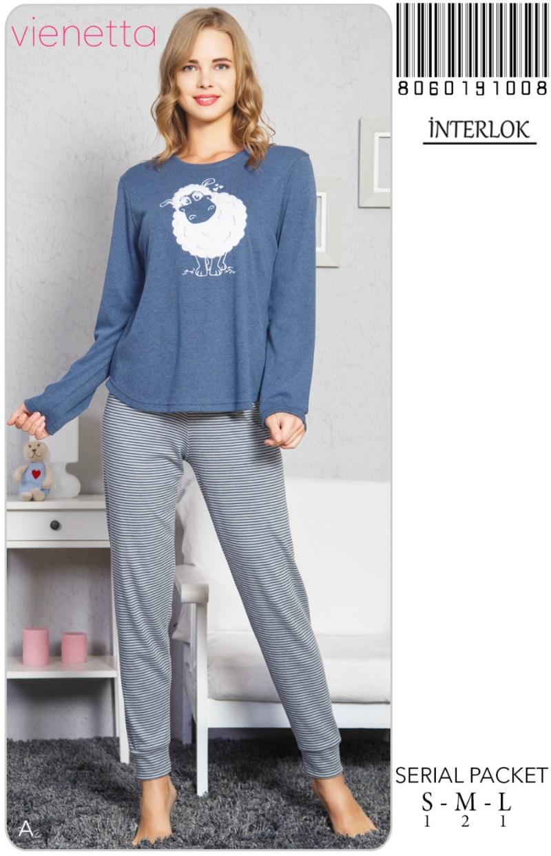Пижама женская Интерлок 8060191008