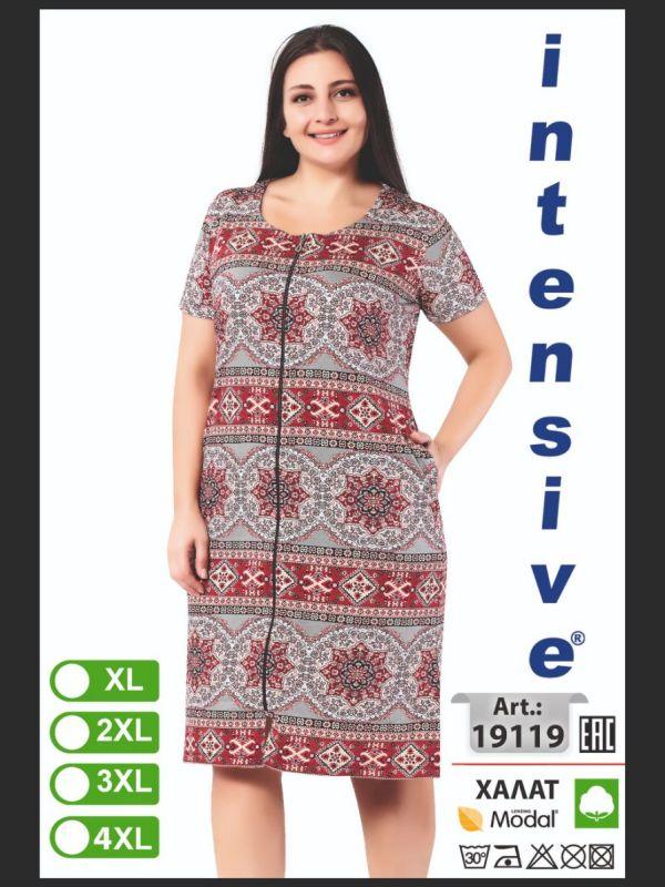 Халат женский Intensive 19119 XL-4XL