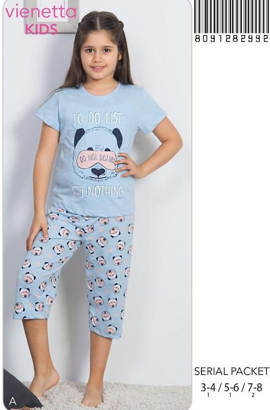 Пижама детская капри 8091282992