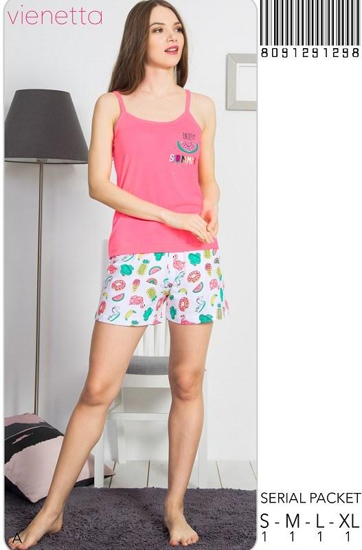Пижама женская Шорты 8091291298