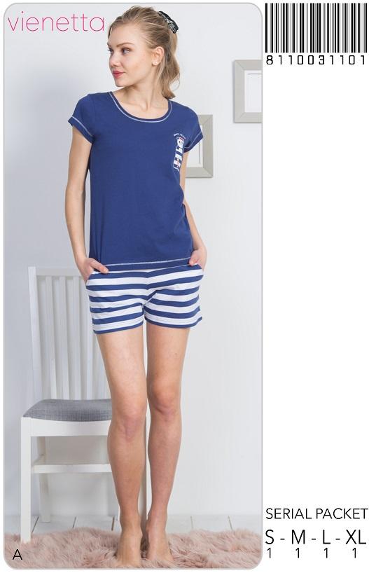 Пижама женская Шорты 8110031101