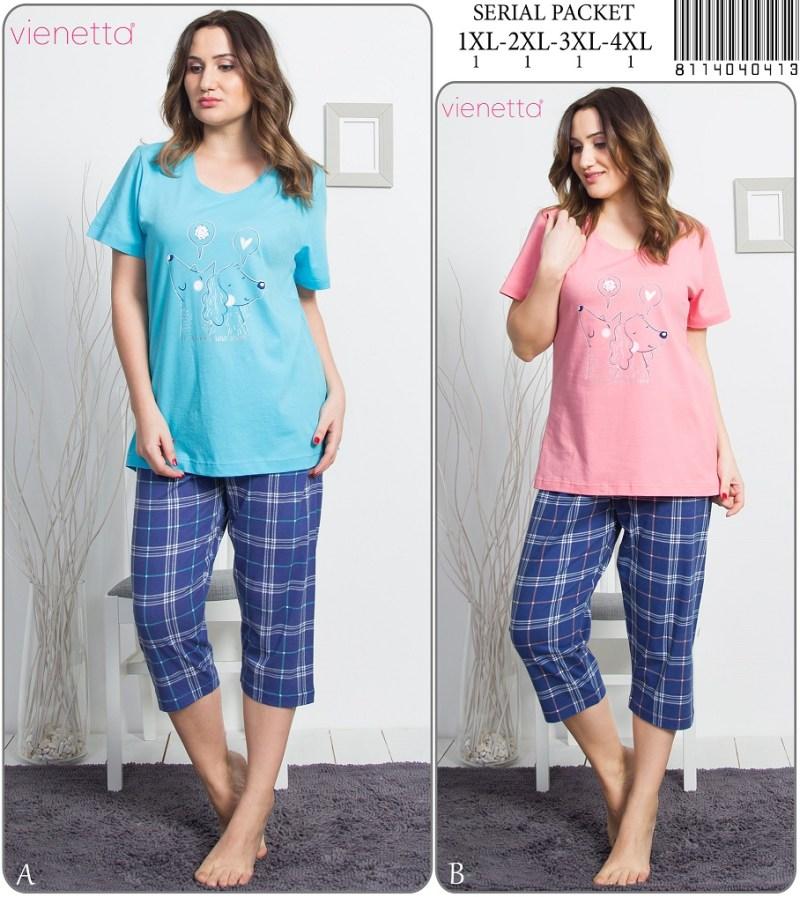 Пижама женская Капри 8114040413