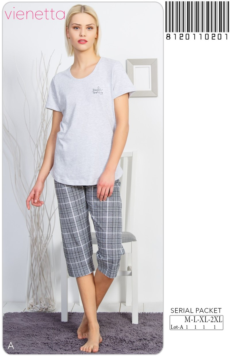 Пижама женская Капри 8120110201