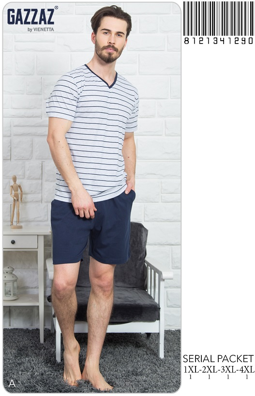 Пижама мужская шорты 8121341290