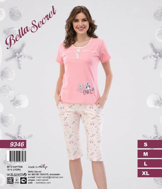 Пижама женская Капри Metin 9346