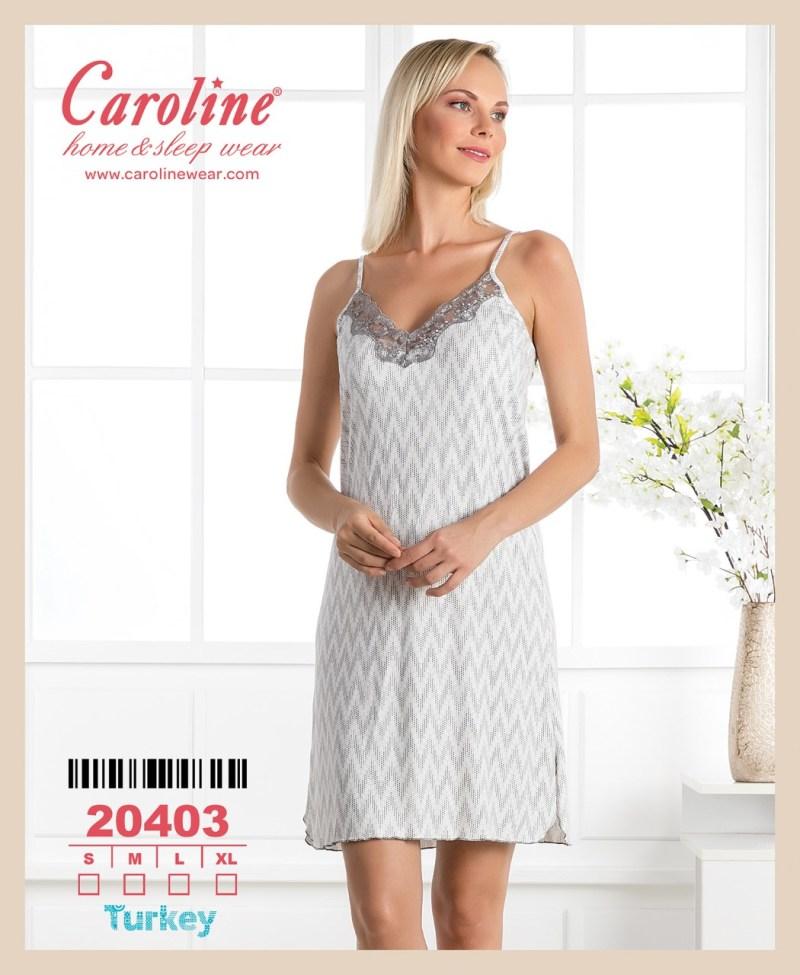 Ночная рубашка лямка Caroline 20403