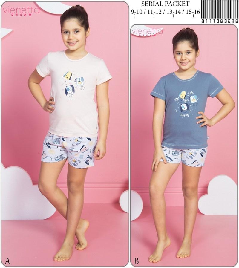 Пижама детская шорты 8111063296