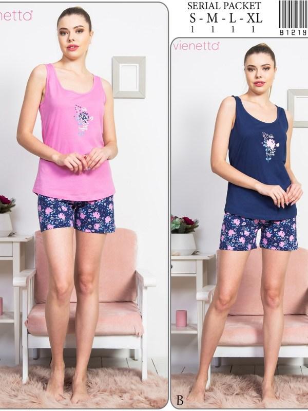 Пижама женская шорты 8121957331