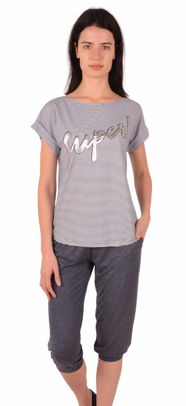 Пижама женская Капри NIC 82455