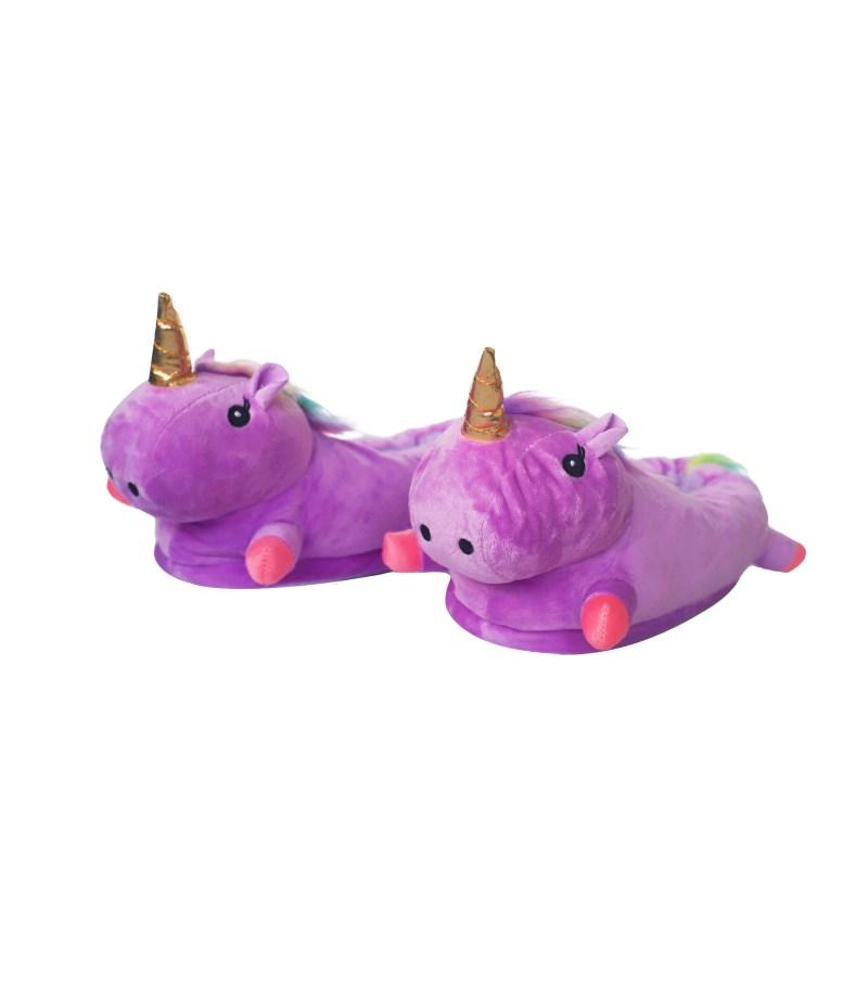Тапочки единорог 187 purple