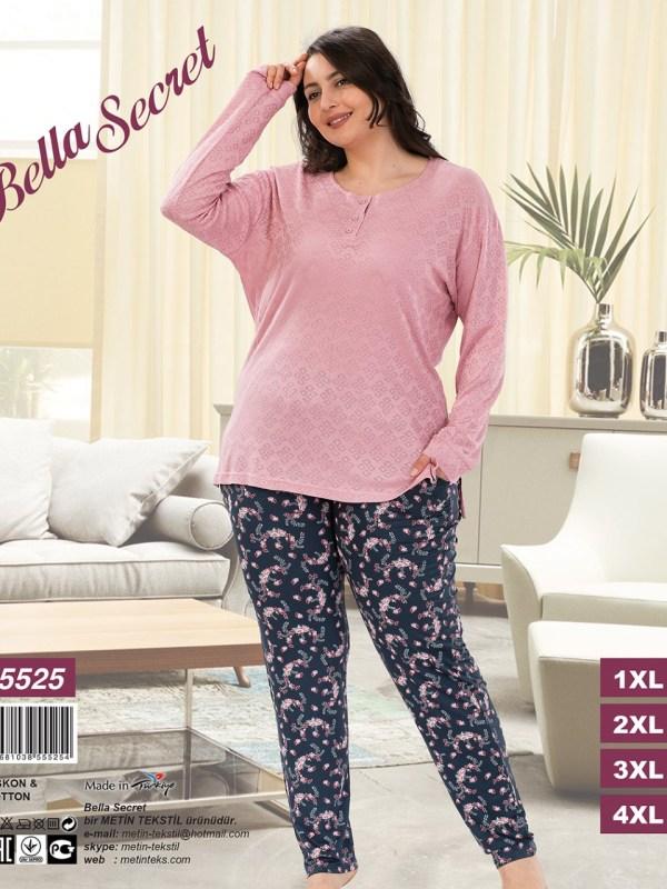 Пижама женская Брюки Metin 5525