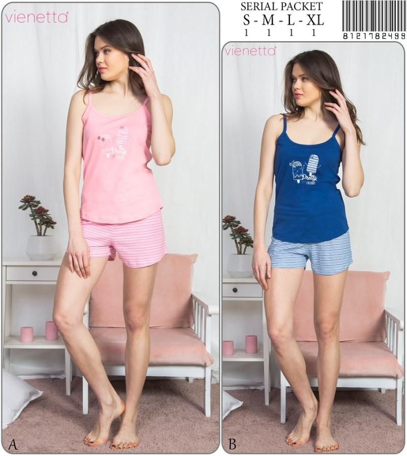 Пижама женская шорты 8121782499
