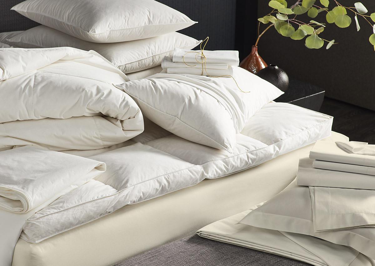 sofitel mybed ivory percale bedding