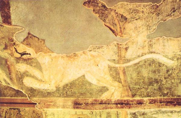 фреска Гепард Софийский Собор