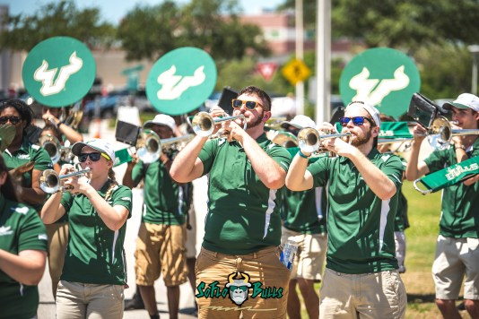 10 - USF Spring Game 2018 - USF Band by Dennis Akers | SoFloBulls.com (6016x4016)