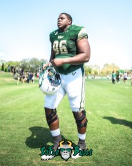 142 - USF Spring Game 2018 - USF DL Kelvin Pinkney by Dennis Akers - SoFloBulls.com (3340x4175)
