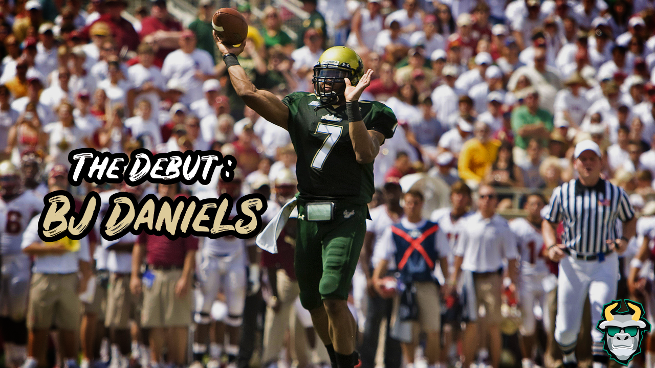 BJ Daniels' Triumphant Hometown Return Against FSU 2009 by Matthew Manuri