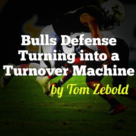 Zebold: Bulls Defense Turning Into a Turnover Machine   SoFloBulls.com by Matthew Manuri