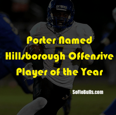 Porter Named Hillsborough Offensive Player of the Year | QB Deiondre Porter (Jefferson HS/Tampa,FL) | SoFloBulls Blog | 2014