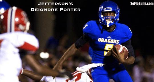 QB Deiondre Porter (Jefferson HS:Tampa,FL) | SoFloBulls Blog | 2014