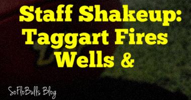 Staff Shakeup: Taggart Fires Wells & Sheridan | SoFloBulls Blog by Matthew Manuri | 2014