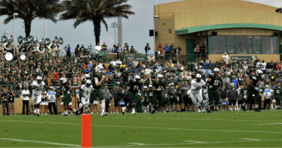 2014 USF Spring Game Highlights from Corbett Stadium | SoFloBulls.com 2014