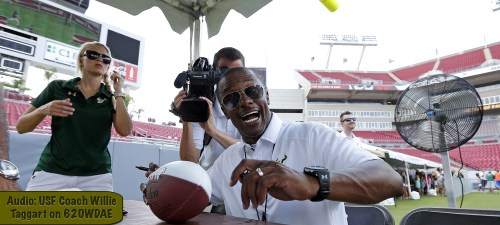 Audio-USF Coach Willie Taggart on 620WDAE | SoFloBulls.com by Matthew Manuri