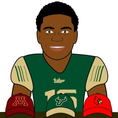 USF Class of 2016 Chronicle: LB Andre Polk by Matthew Manuri | SoFloBulls.com (1023x597)