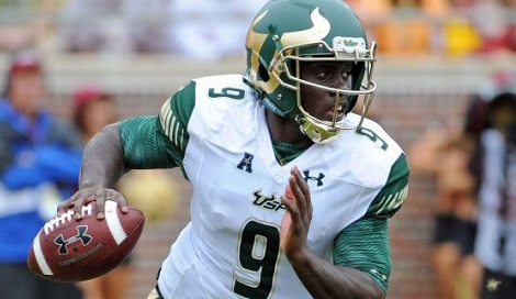 AAC Coaches Anonymous Comments on Conference Teams - USF QB Quinton Flowers SNAP FI (470x272)
