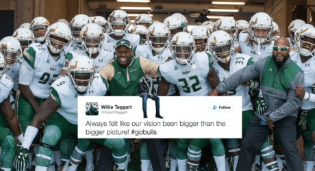 Media Taking the Over on 8.5 Wins for USF in 2016 #Views (597x321)