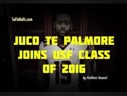 JUCO TE Palmore Joins USF Class of 2016 by Matthew Manuri (2048x1535)