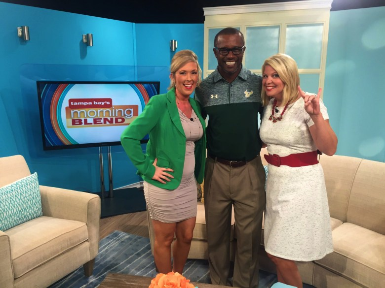 Video-USF Coach Willie Taggart Joins Tampa Bay's Morning Blend SoFloBulls.com