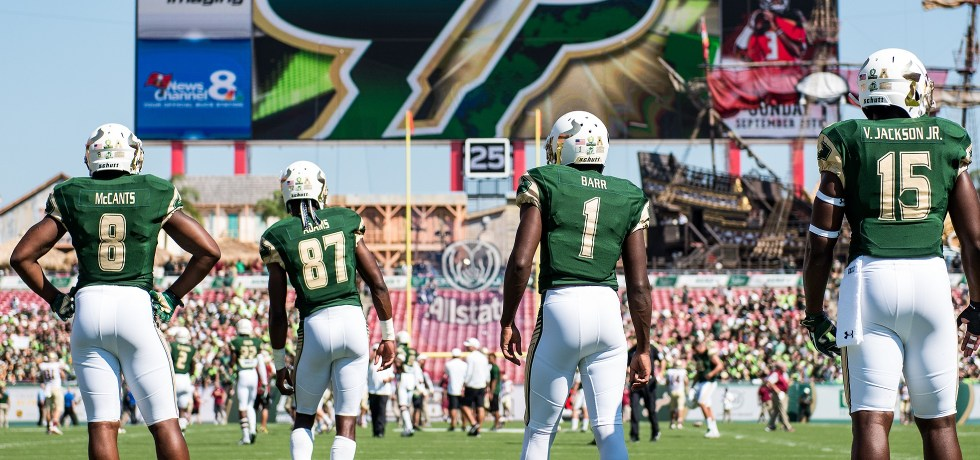 FSU vs. USF 2016 Photo Montage ReCap Album by Matthew Manuri (Photo by Dennis Akers) SoFloBulls.com (2400x920)