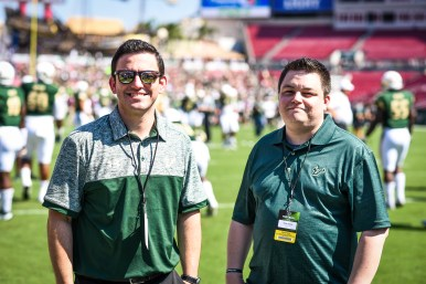 FSU vs USF 2016 37 - Matthew Manuri and Matt Staton of SoFloBulls Blog Pre-game by Dennis Akers (4512x3008)