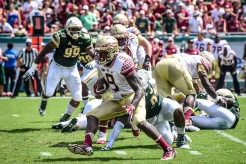 FSU vs USF 2016 69 - Kevin Bronson chases Jacques Patrick by Dennis Akers (4114x2743)