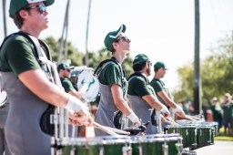 FSU vs USF 2016 9 - White Hot Band Drummers 1 by Dennis Akers (6016x4016)