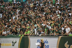 USF Student Section vs. NIU