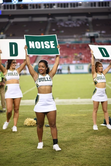 USF Cheerleaders vs. NIU