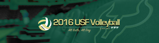 2016 USF Bulls Volleyball Featured Image FINAL FOR WEB by Matthew Manuri | SoFloBulls.com (960x260)